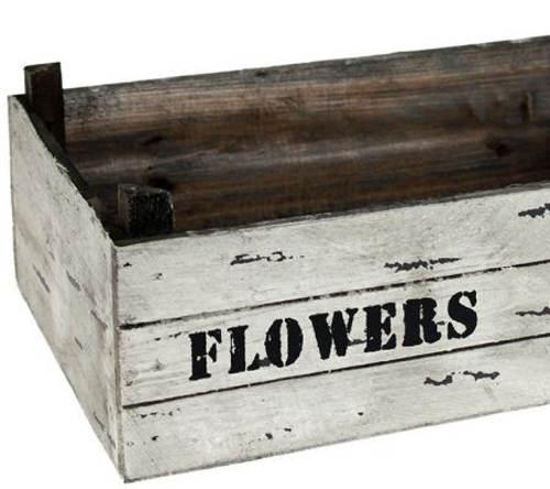 Květináč dřevěná bedýnka