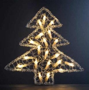 Vánoční svítící stromek Thane se dvaceti žárovkama