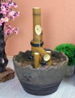 Japonská fontána bambus