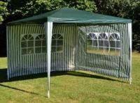 Nepromokavý zahradní stan pro příjemné chvíle letních oslav