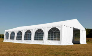 Velký bílý party stan Premium 6 x 12 m