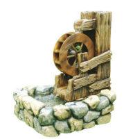 Zahradní kašna mlýnské kolo