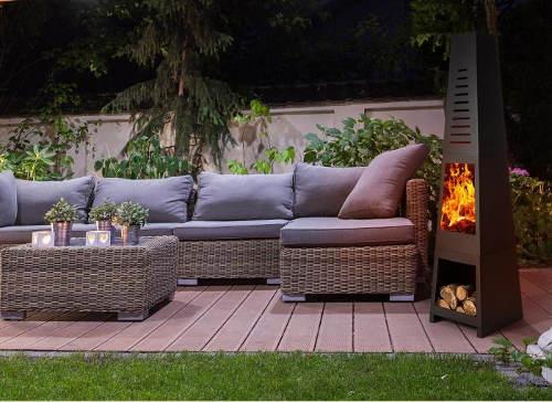 Krb pro příjemné teplo na terase