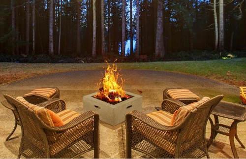 Moderní zahradní ohniště