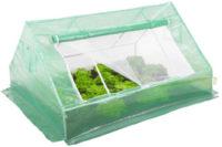 Malý fóliovník pro pěstování salátů