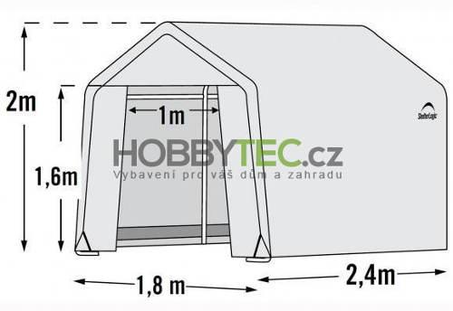 Rozměry fóliovníku Shelterlogic