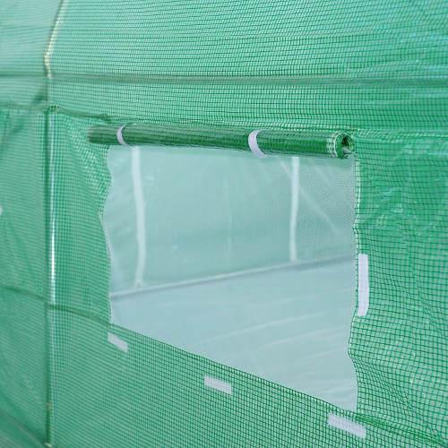 Velká větrací okna se síťkou proti hmyzu