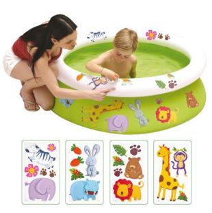 Dětský bazén s obtisky 122 x 35 cm
