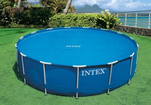 Kruhová solární plachta Intex