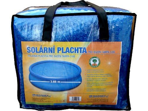 Modrá solární plachta Marimex