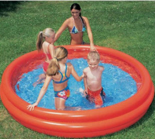 Nafukovací bazén na terasu