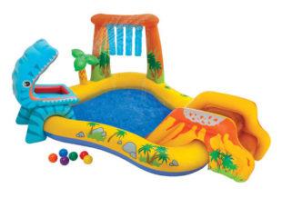 Nafukovací dětské hřiště s bazénkem