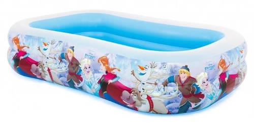 Obdelníkový nafukovací bazén Frozen