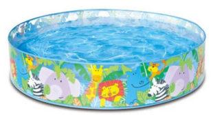 Samonosný dětský bazén Safari