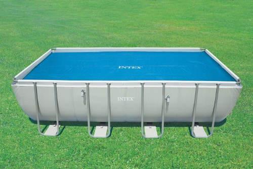 Solární plachta na obdelníkové bazény Intex