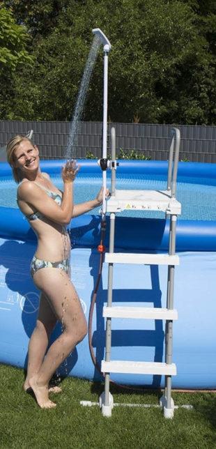 Sprcha na bazénové schůdky Speedshower Quick