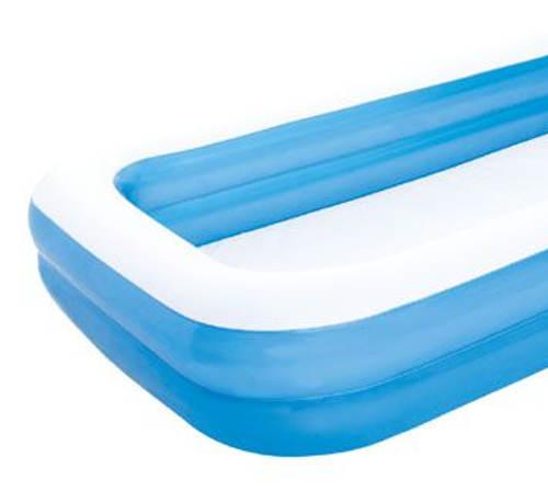 Velký modrý nafukovací bazén