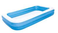 Velký obdelníkový nafukovací bazén BESTWAY Family 305x183 cm