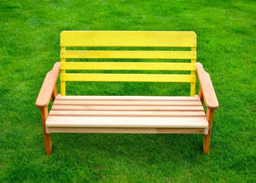 Dětská zahradní lavička
