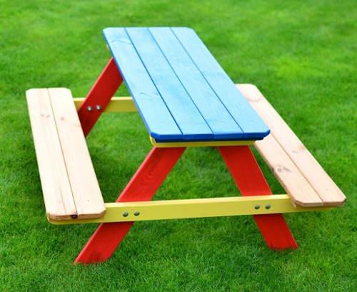 Dětský piknikový zahradní set