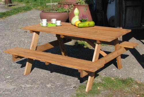 Dřevěný zahradní set PIKNIK