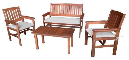 Levný zahradní nábytek z tropického dřeva