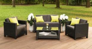 Set zahradního nábytku s pohodlným čalouněním
