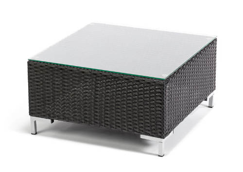 Taburetový stolek umělý ratan