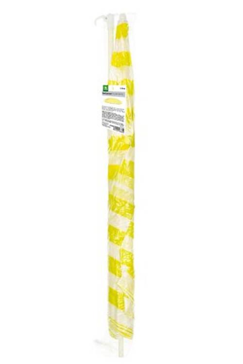 Žlutý plážový slunečník