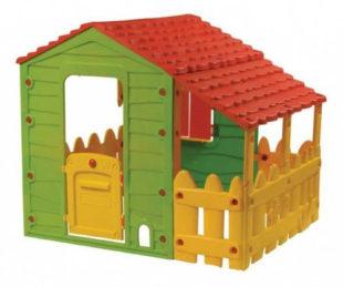 Dětský zahradní domeček Buddy Toys Farm s verandou