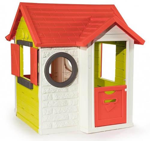 Dětský zahradní domeček s otvíracím oknem