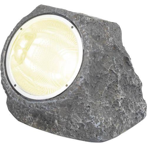 LED solární dekorativní osvětlení kámen