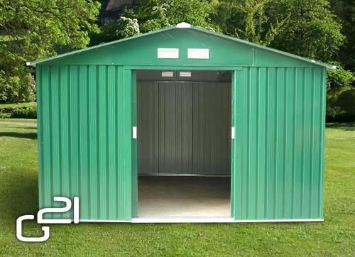 Plechový zahradní domek G21 GAH 905