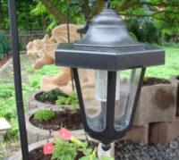 Sada 3 ks zahradních solárních luceren