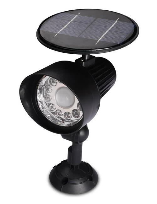 Solární bezpečnostní světlo s detektorem pohybu