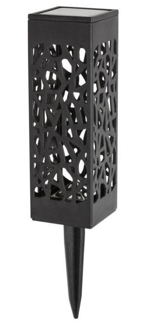 Solární zapichovací osvětlení vzhled kované lampičky