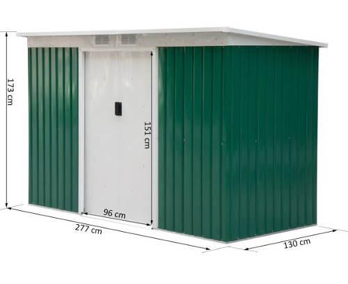 Zahradní domek 130x270 cm