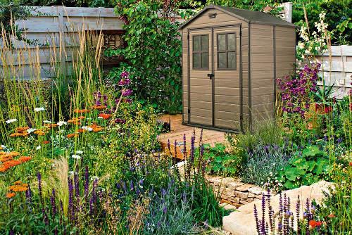 Zahradní domek do vesnické zahrady