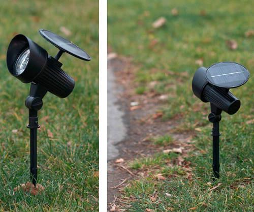 Zapichovací zahradní LED s detektorem pohybu