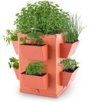 Balkónová zahrádka na bylinky