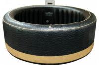 Luxusní černá nafukovací vířivka Hanscraft MSpa