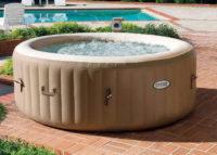 Přenosný nafukovací vířivý bazén