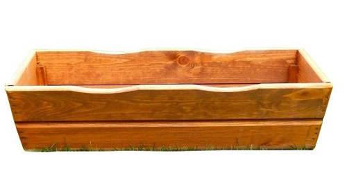 Velký dřevěný truhlík