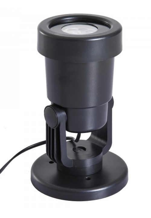 Možnost libovolného nastavení směru promítání vánočního laserového osvětlení