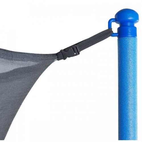 Uchycení ochranné sítě na sloupek trampolíny