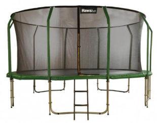 Velká zahradní trampolína Hawaj 457 cm s vnitřní ochrannou sítí