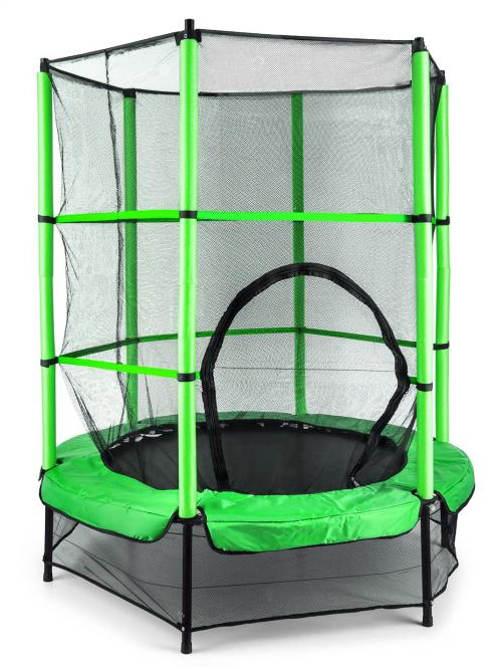 Zelená zahradní dětská trampolína