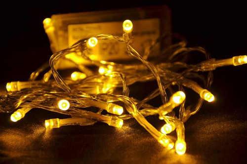 Levný LED řetěz na vánoční stromeček