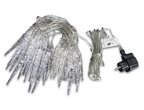 Svítící rampouchy pro venkovní použití