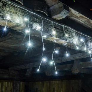 Vánoční LED rampouchy světelný déšť